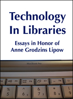 "Book cover for ""Technology in Libraries"""