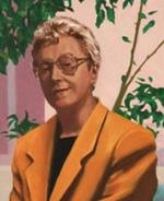 Priscilla Mayden painting