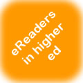 e-readers in higher ed logo