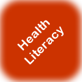 Health literacy logo