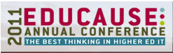 logo for EDUCAUSE 2011 Annual Conference