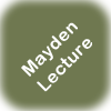 logo for Mayden Lecture