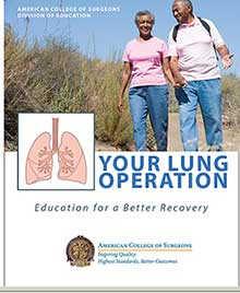 Your Lung Operation packet