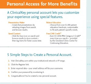 Image of Benefits with Personal Account.