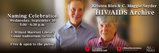 Image for Naming Celebration of Kristen Reis & C. Maggie Snyder HIV/AIDS Archive