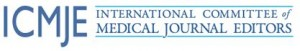 Logo for International Committee of Medical Journal Editors