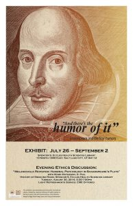 Shakespeare Humors Poster