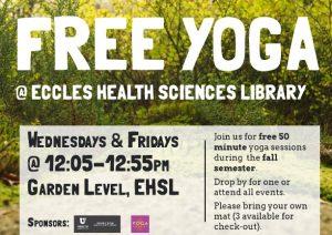 Free Yoga Fall Classes
