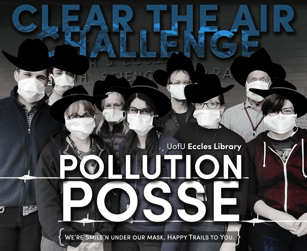 Eccles Library Pollution Posse