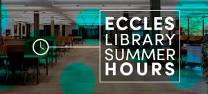 EHSL Summer Hours