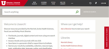 Library Catalog Search Interface