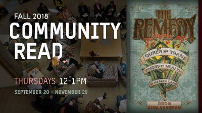 Community Read Fall 2018