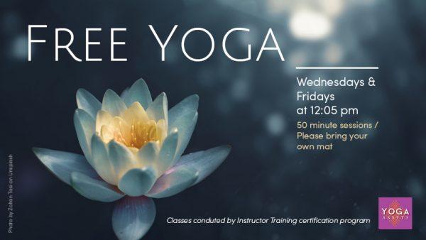 Free Yoga at EHSL