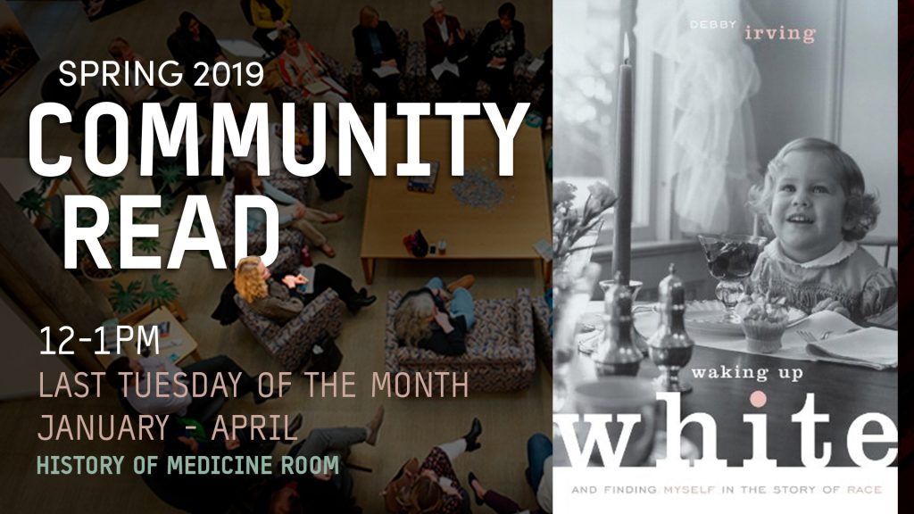 Community Read Announcement
