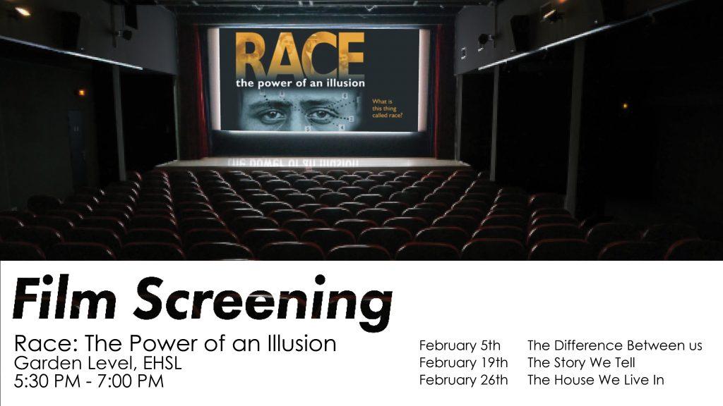 Screening Race Poster