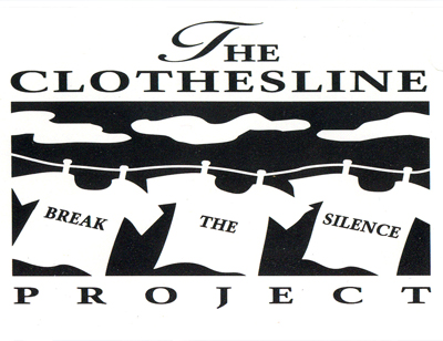 The Clothesline Project, 2019 at Eccles Library
