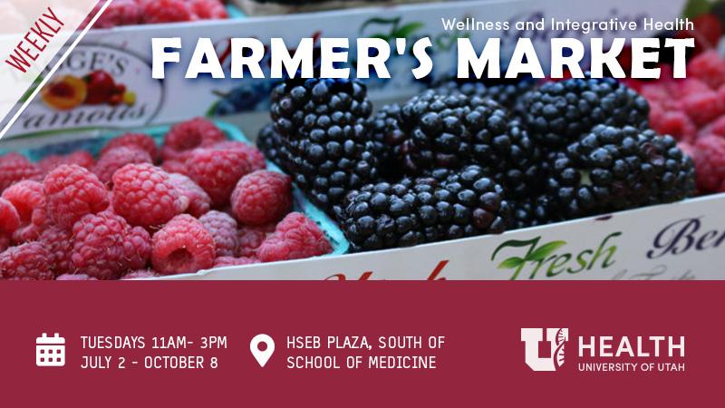 2019 Farmer's Market, UofU Health