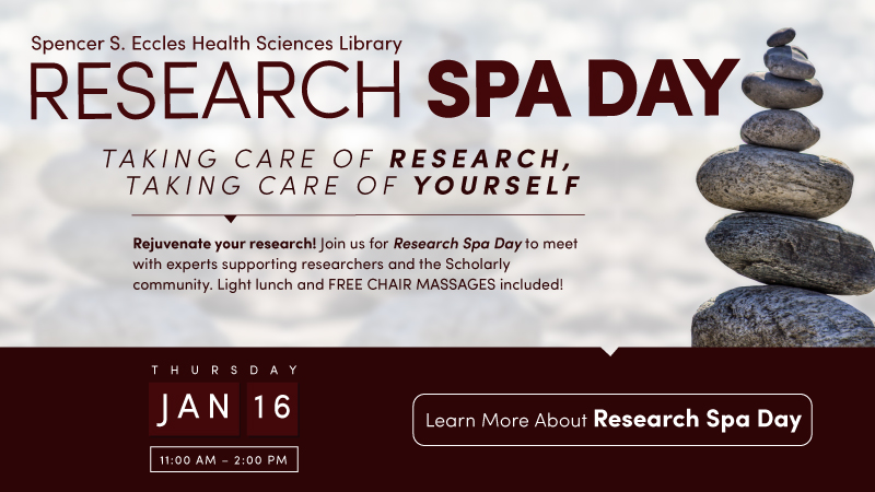Research Spa Day January 16, 2020