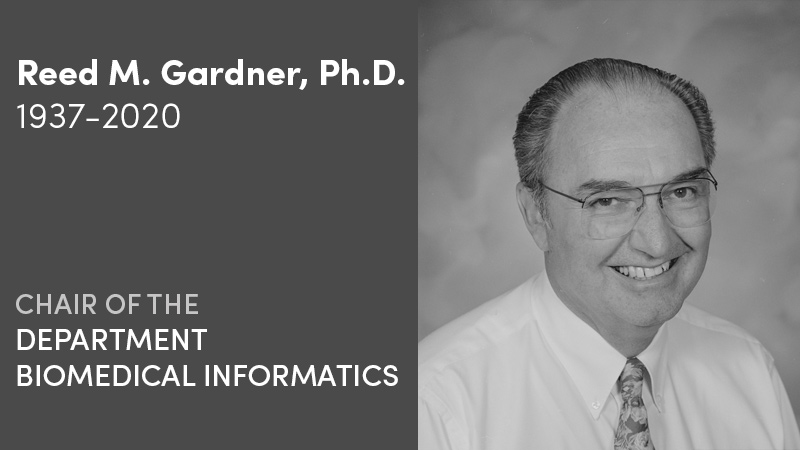 Reed M. Gardner, Ph.D.