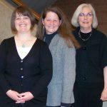 Allyson Mower, Mary Youngkin & Jeanne LeBer