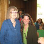 Nina Dougherty and Mary Youngkin