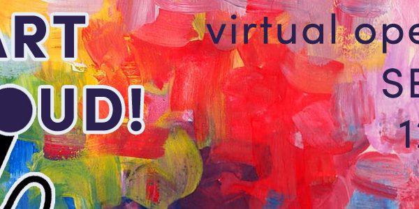 Art Aloud, Virtual open mic, Sep. 24, 2001. 12-1pm