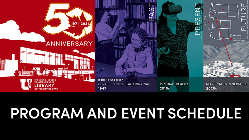 50th Anniversary Program and Event Scheduling