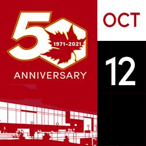 October 12, Calender Event
