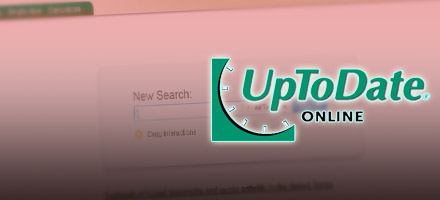 featured database - uptodate