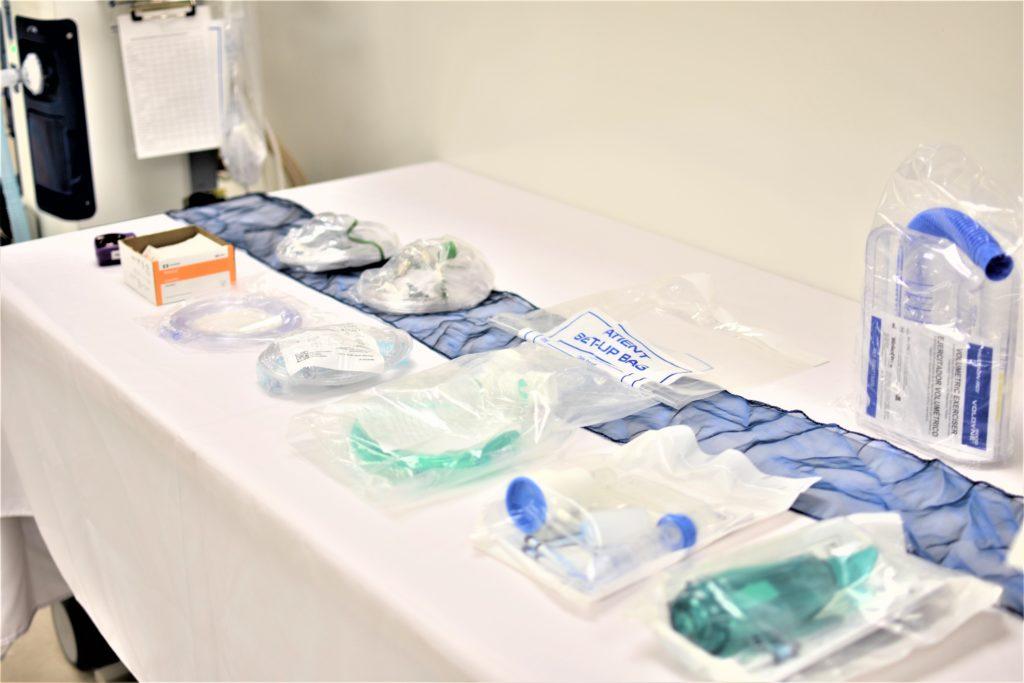 Respiratory Therapist Equipment