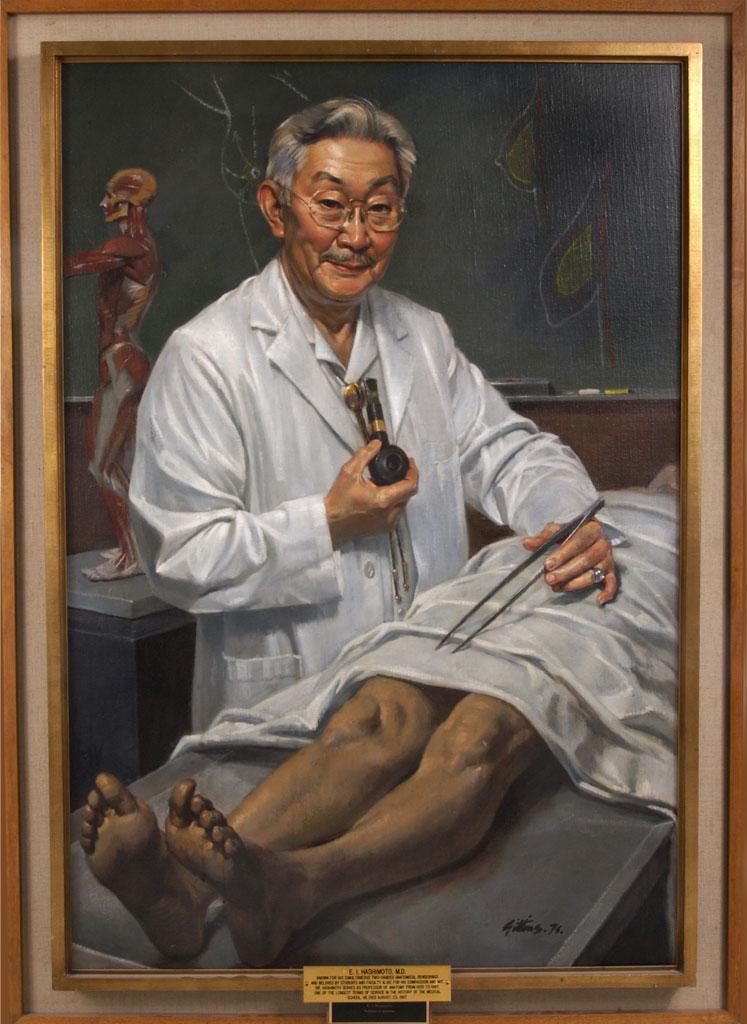 Dr. Edward I. Hashimoto Portrait Painting