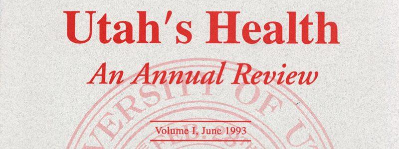 Utah's Health Report