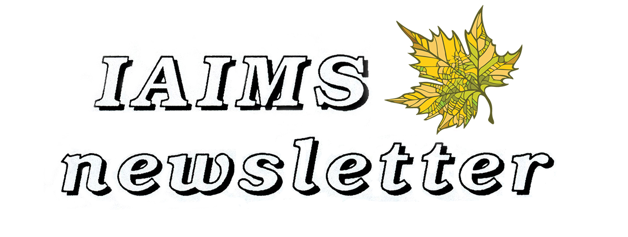 IAIMS Newsletter Banner Image
