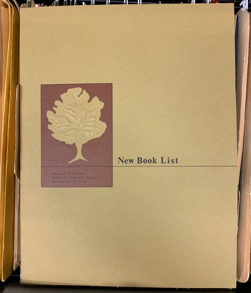 EHSL Leaf of Hippocrates logo sticker on file folder