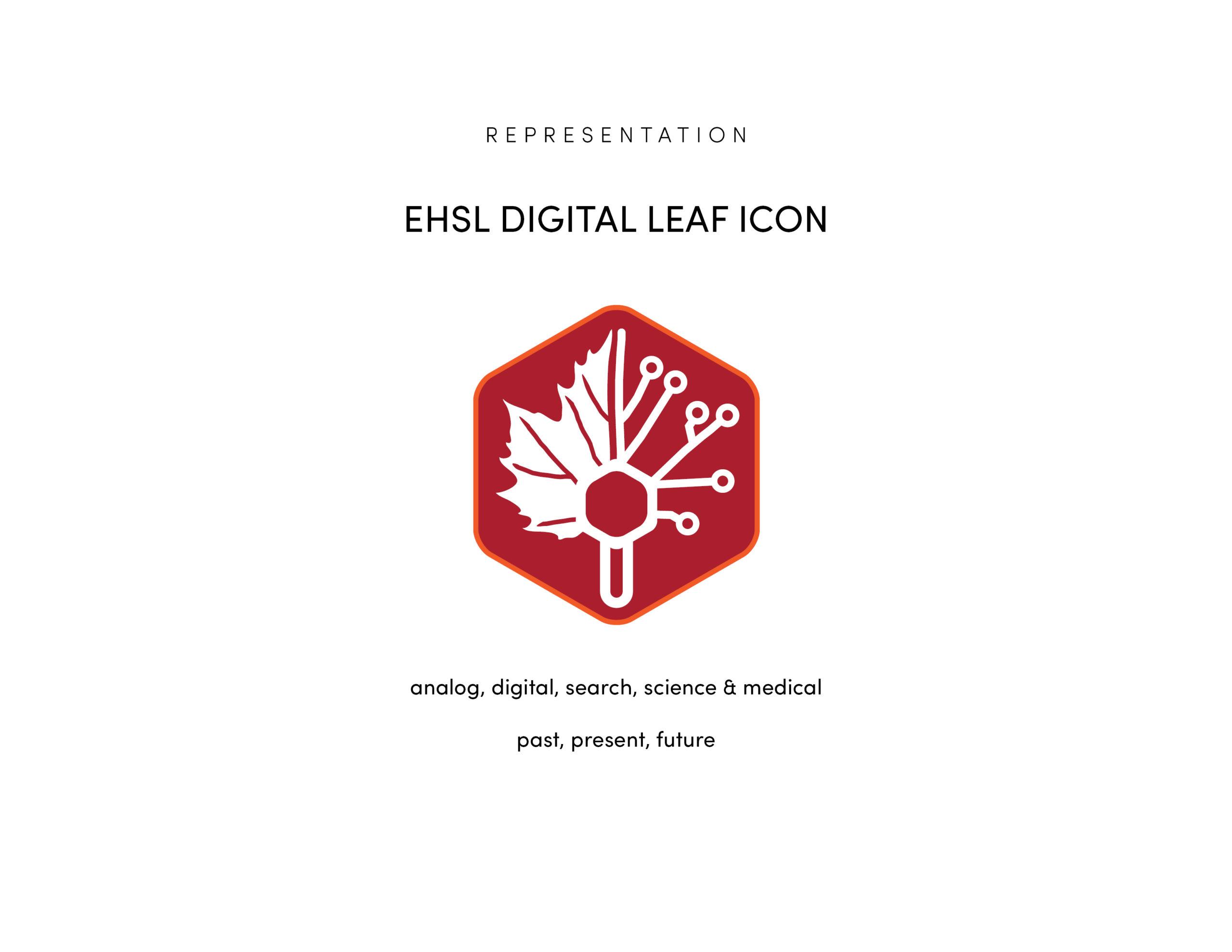EHSL Digital Leaf, 2018 by Peter Strohmeyer